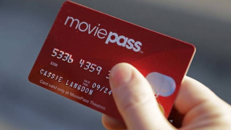 Cartão do MoviePass