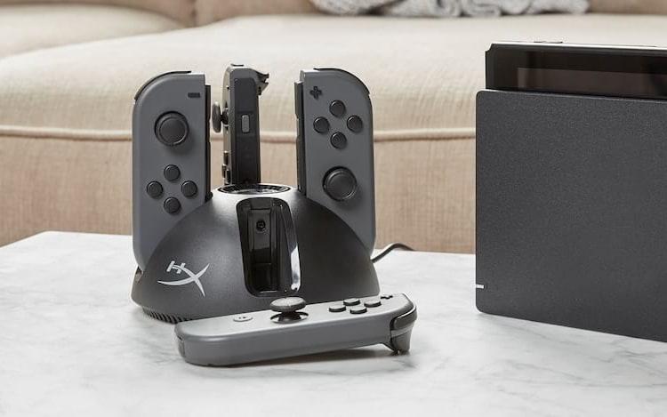HyperX lança estações de carregamento de baterias para controles de videogames.