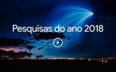 Palavras mais buscadas no Google em 2018 no Brasil e no Mundo