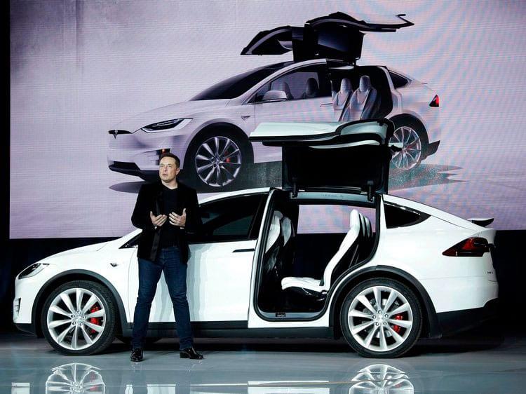 Musk apresenta o Model X