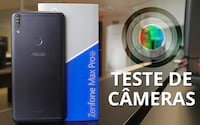 Zenfone Max Pro M1 - Teste de câmeras