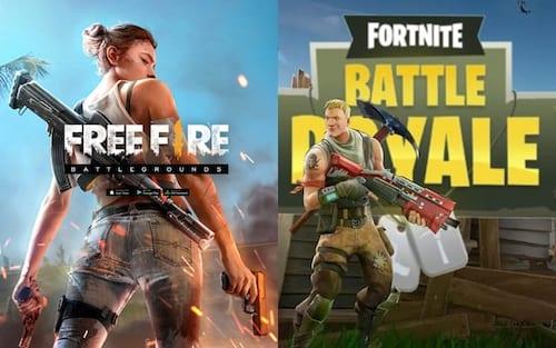 Fortnite vs Free Fire: Quais as diferenças entre esses dois jogos Battle Royale?