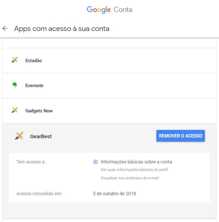 Google Conta