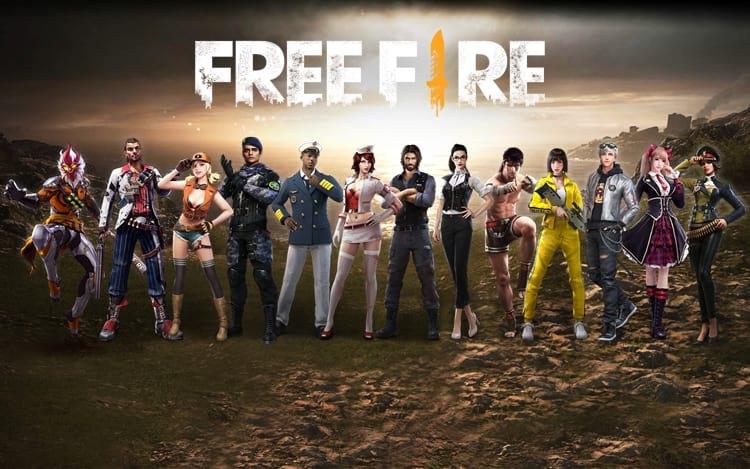 Resultado de imagem para free fire personagens