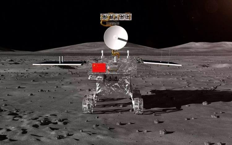 Sonda chinesa realiza primeiro pouso no lado oculto da Lua.