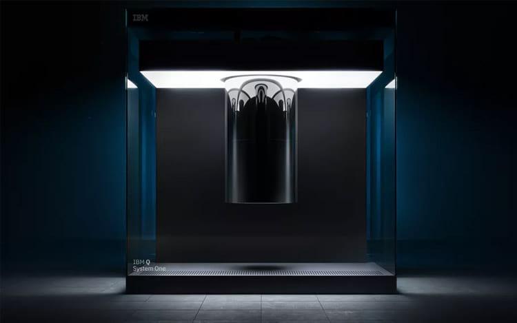 Q System One da IBM - ainda um dispositivo experimental