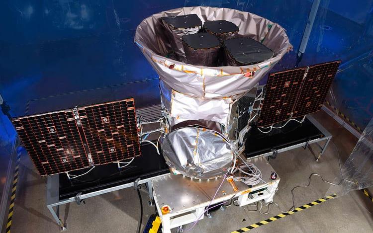 Sonda Tess. Foto: NASA