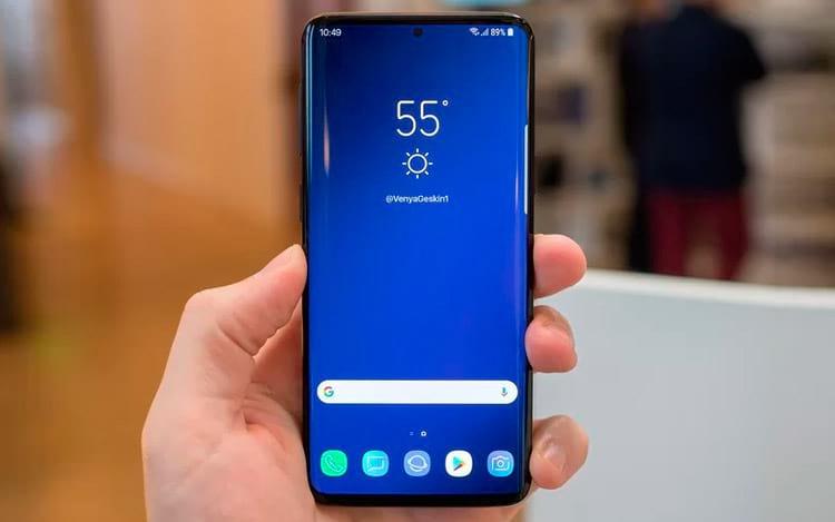 Rumor do possível Samsung Galaxy S10