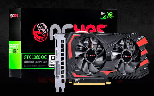 Fabricante nacional PCYes lança no Brasil novos modelos de GPU GTX 1050, 1050TI e 1060