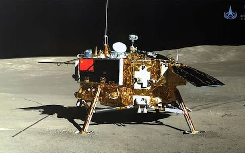 Missão chinesa registra primeiro nascimento de broto de planta na Lua