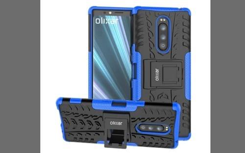 Sony Xperia XZ4 tem design revelado em imagens de case da Olixar