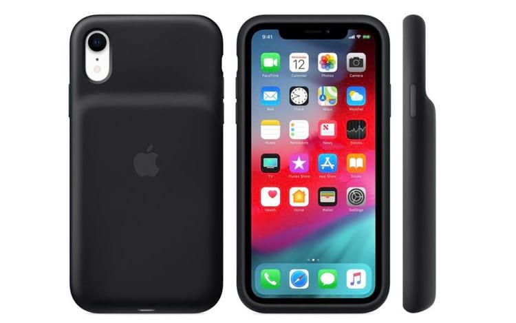 Apple anuncia cases de bateria para os iPhones XS, XS Max e XR