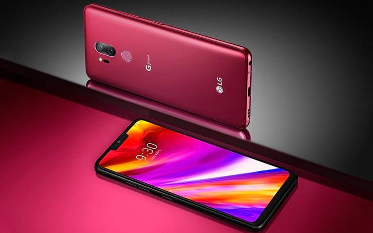 LG G7 é o único aparelho da lista que é vendido no Brasil