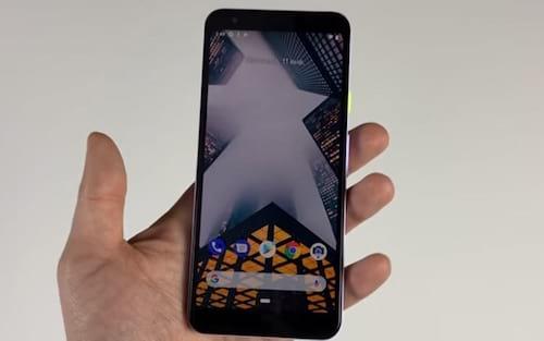 Google Pixel 3 Lite aparece em vídeo de um canal do YouTube