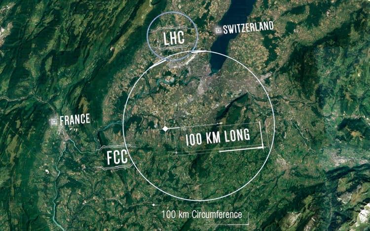 Diferença entre o LHC e FCC