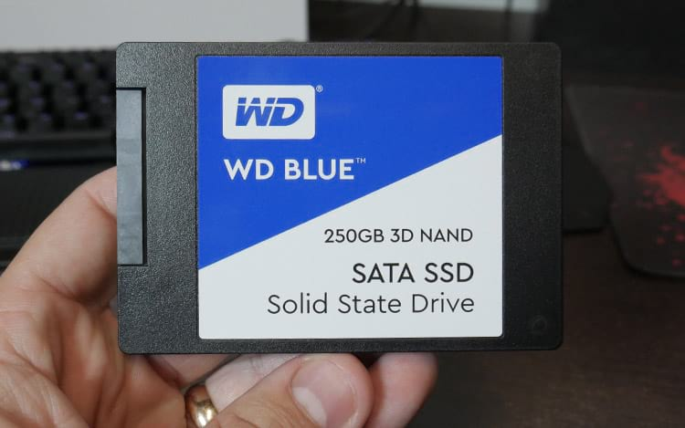 SSD WD BLUE 3D NAND 250GB