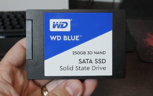 Review SSD WD BLUE 3D NAND 250GB - Boa performance a bom preço