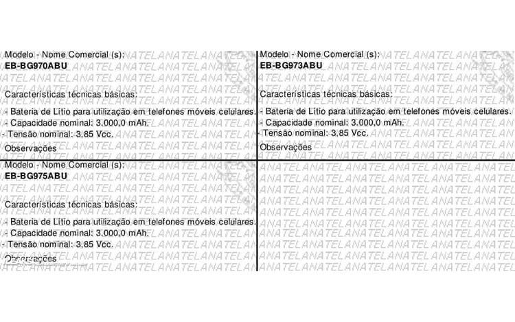 Documento homologação Anatel.