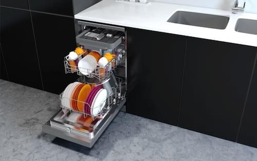 Como limpar uma máquina de lavar louça