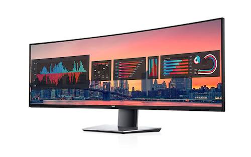 Dell anuncia monitor ultrawide de 49 polegadas