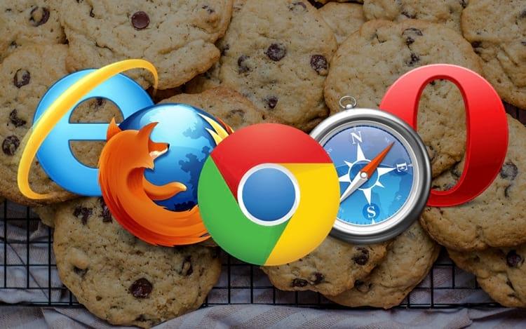7 Tipos de cookies do navegador