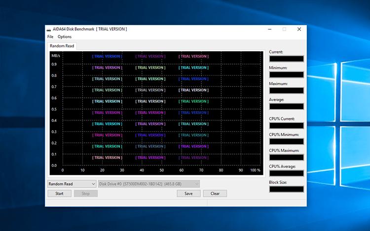 Benchmark de HD/SSD