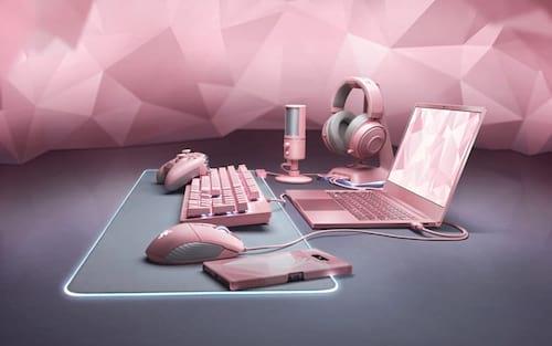 Razer expande a linha Quartz com nove produtos na cor rosa