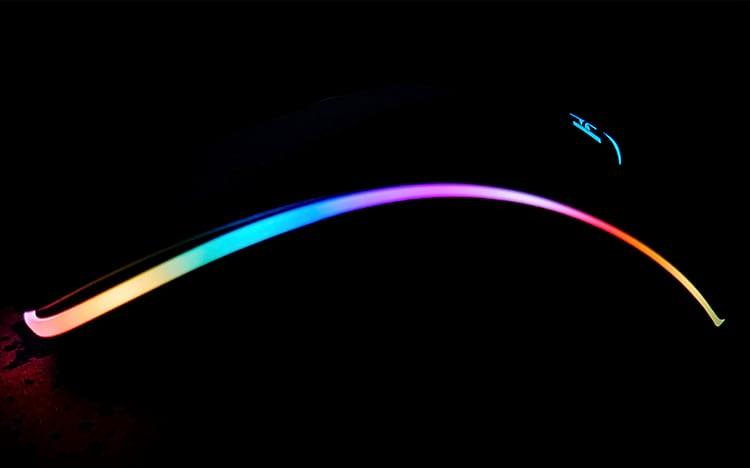 Iluminação do mouse