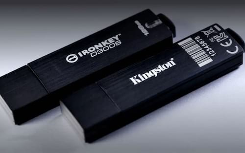 Kingston lança modelo gerenciável do pendrive criptografado IronKey D300 Serialized