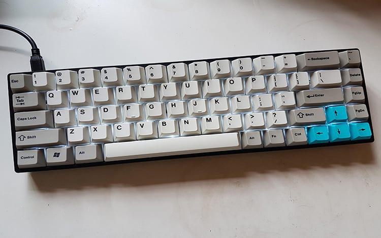 Tada68, bastante usado pelo KBDfans