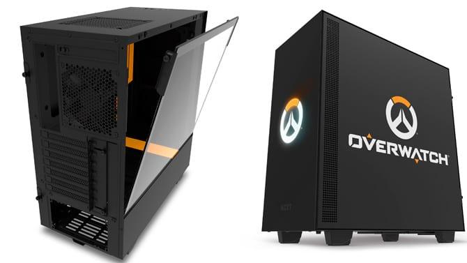NZXT, em parceria com a Blizzard, lança gabinete H500 com o tema Overwatch.