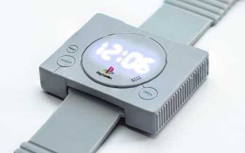 Sony deve lançar relógio inspirado em PlayStation
