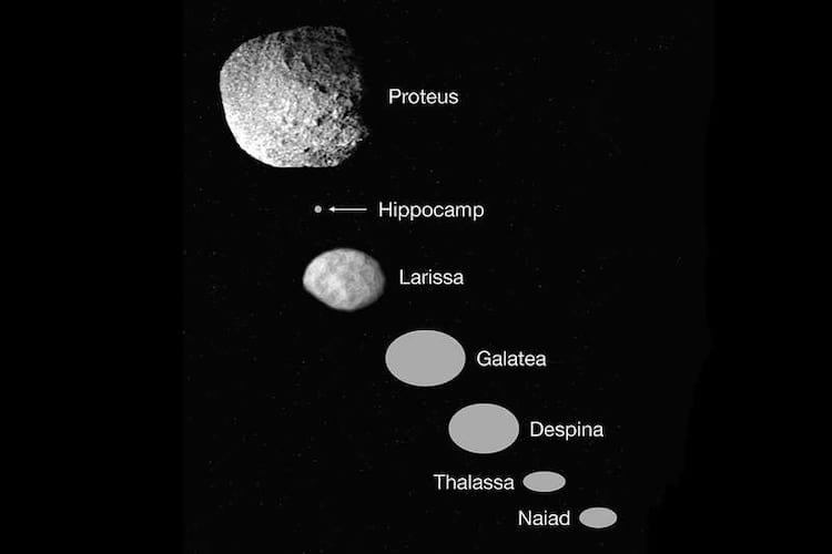 Lua recém descoberta de Netuno pode ter surgido após uma explosão.