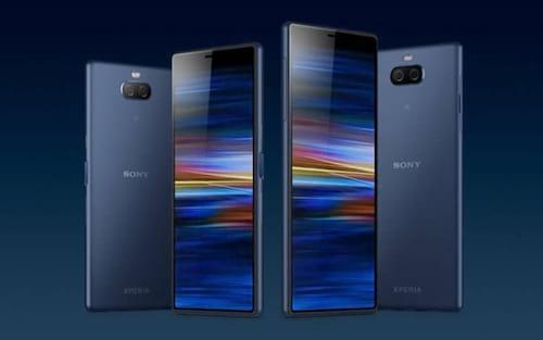 Sony anuncia os intermediários Xperia 10 e 10 Plus com painel na proporção 21:9