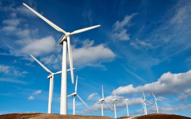 Google e DeepMind utilizam inteligência artificial na produção de energia em parques eólicos.