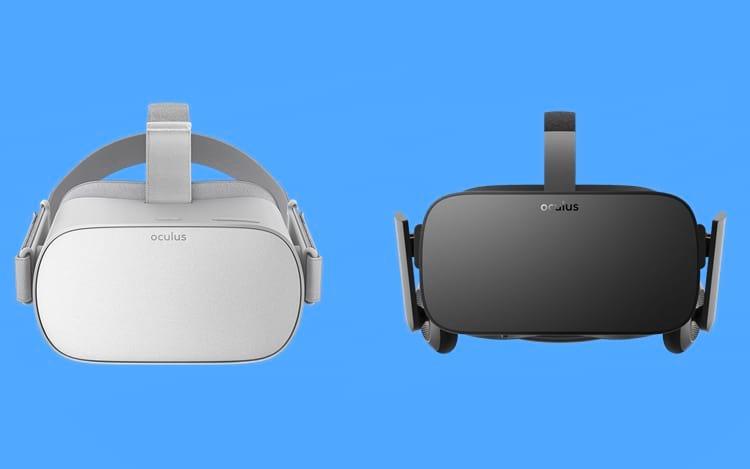 Oculus Rift vs Oculus Go: qual a diferença?