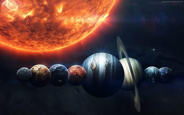 Por que os planetas são redondos?