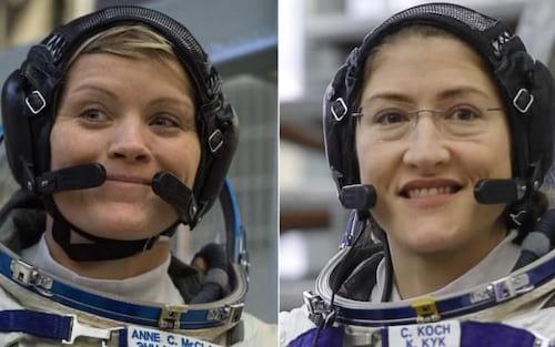 Primeiro as damas: Caminhada espacial será realizada somente por mulheres