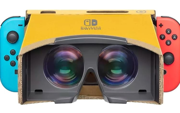 Nintendo anuncia kit Labo VR para o Switch.