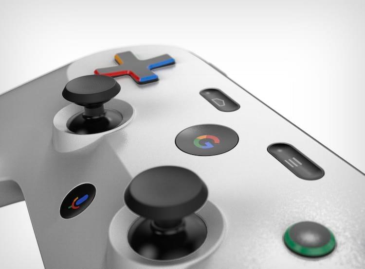 Suposto controle de videogame do Google.