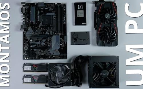 Montamos um PC completamente AMD!