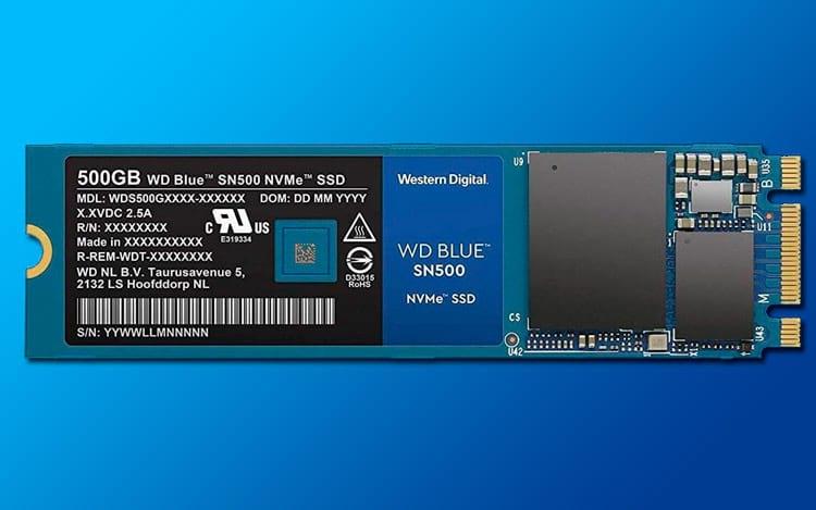 WESTERN DIGITAL LANÇA SSD WD BLUE NA VERSÃO NVMe.