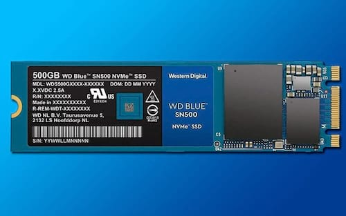 Western Digital Lança SSD WD Blue na versão NVMe