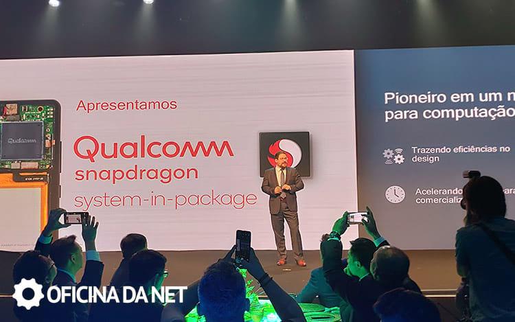 Anúncio do Qualcomm Snapdragon SiP