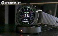 Review Galaxy Watch BT - um smartwatch bom, mas caro