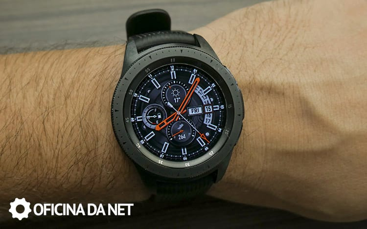 Galaxy Watch BT - tela