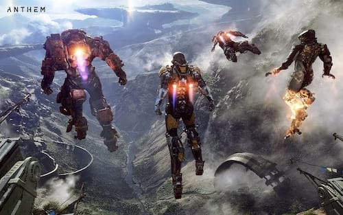 Anthem é o game mais vendido nos EUA em fevereiro