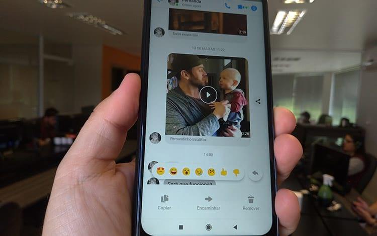 Facebook adiciona recurso de respostas ao Messenger