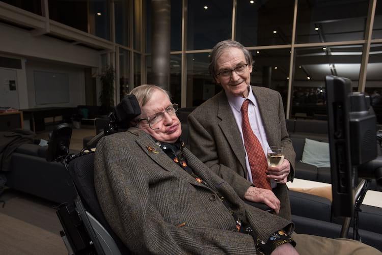 Roger Penrose e Stephen Hawking