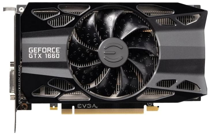 Especificações técnicas e características da Nvidia GeForce 1660.